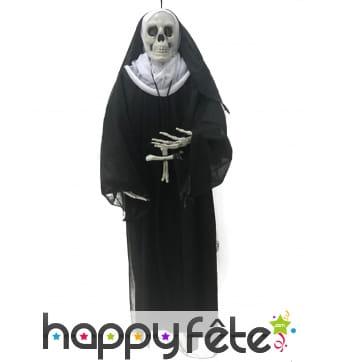 Religieuse squelette à suspendre