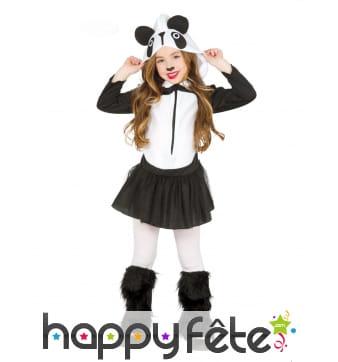Robe tutu de panda pour enfant