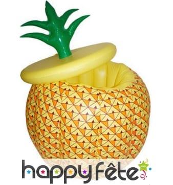 Seau à glace en forme d'ananas, gonflable