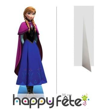Silhouette Anna La reine des neiges, 96 cm