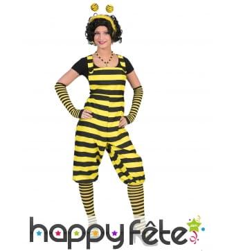 Salopette abeille pour adulte