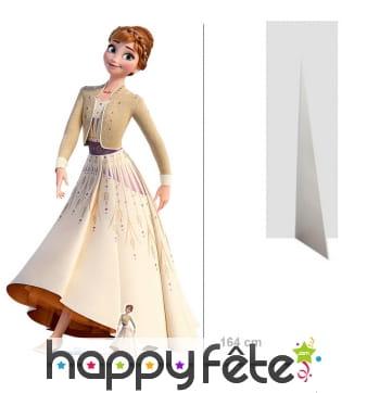 Silhouette Anna taille réelle, Reine des neiges 2