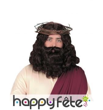 Set barbe et perruque de Jésus