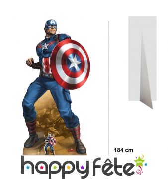 Silhouette Captain America taille réelle, Endgame