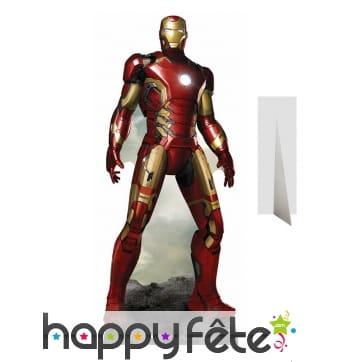Silhouette cartonnée Iron Man taille réelle