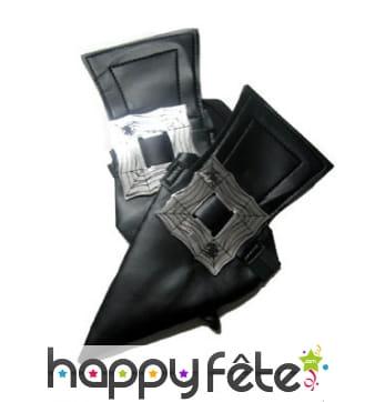 Sur-chaussures noirs de sorcière