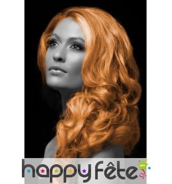 Spray cheveux orange