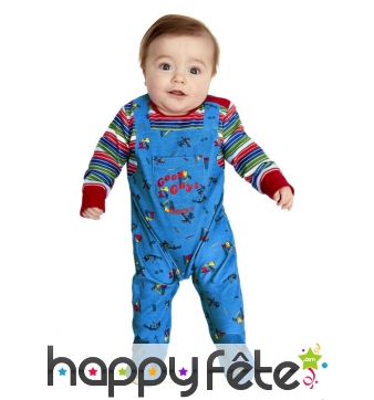 Salopette Chucky pour bébé