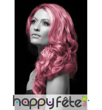 Spray cheveux rose