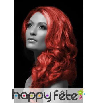 Spray cheveux rouge