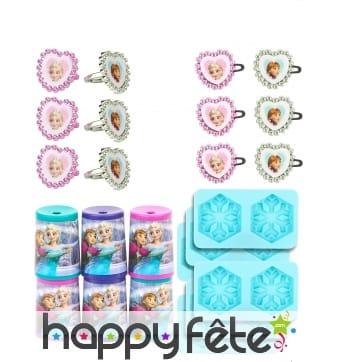Set de 24 petits cadeaux Reine des Neiges