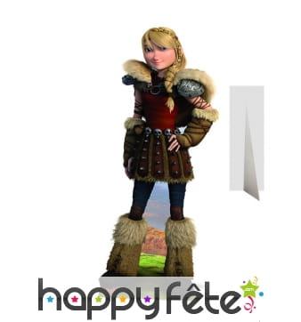 Silhouette de Astrid en carton, Dragon 2