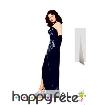 Silhouette de Ava Gardner en carton