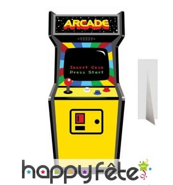 Silhouette de borne arcade old school