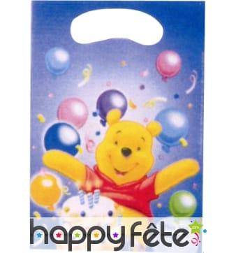 Sacs de cadeaux Winnie l'Ourson