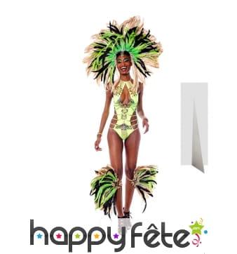 Silhouette de danseuse brésilienne taille réelle