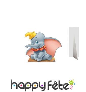 Silhouette de Dumbo en carton plat