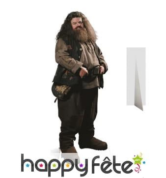 Silhouette de Hagrid en carton taille réelle