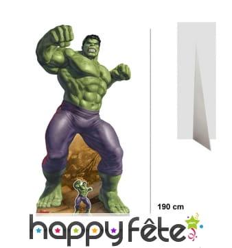 Silhouette de Hulk taille réelle, Avengers Endgame