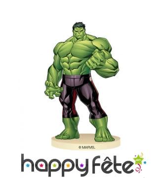 Statuette de Hulk, Avengers en plastique de 9 cm