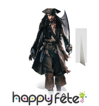 Silhouette de Jack Sparrow en carton plat