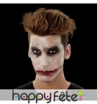 Sourire du Joker en latex
