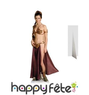 Silhouette de la princesse Leia taille réelle