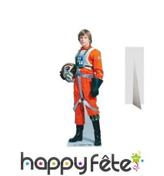 Silhouette de Luke Skywalker pilote