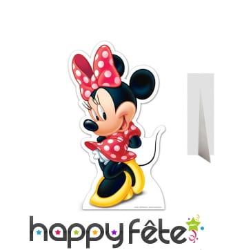 Silhouette de Minnie en carton