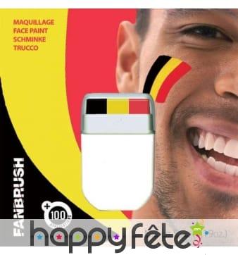 Stick de maquillage drapeau Belge