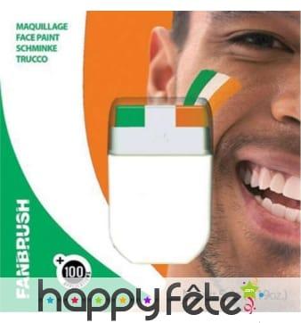 Stick de maquillage drapeau Irlandais