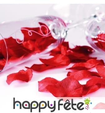 Sachet de pétales de rose rouges