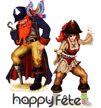 Set de pirates repositionnables