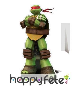 Silhouette de Raphael taille réelle, Tortue Ninja