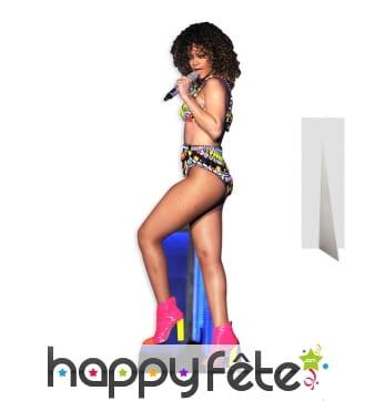 Silhouette de Rihanna en carton plat