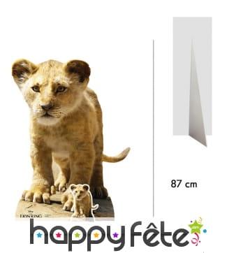 Silhouette de Simba enfant, Roi Lion taille réelle