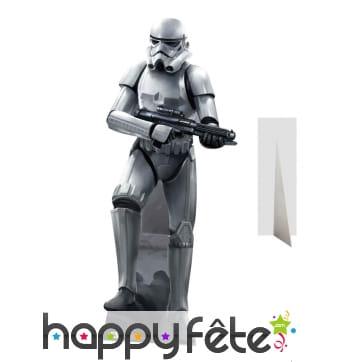Silhouette de Stormtrooper taille réelle en carton