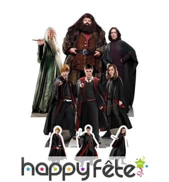 Silhouette de table Harry Potter