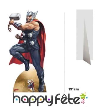 Silhouette de Thor taille réelle, version BD