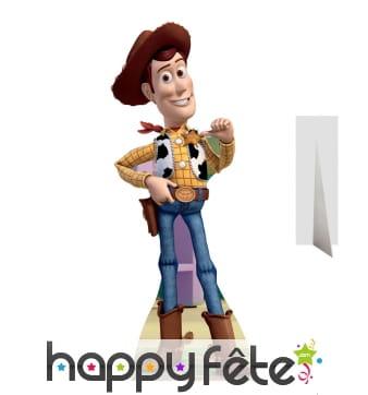 Silhouette de Woody en carton, Toy story