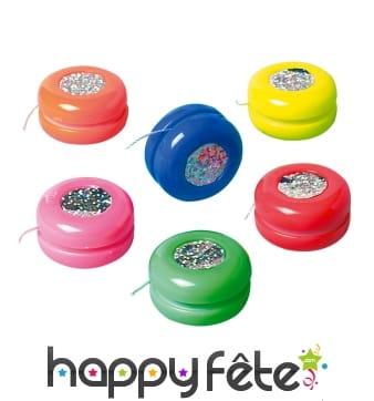 Sachet de yoyos colorés