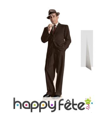Silhouette en carton de Humphrey Bogart