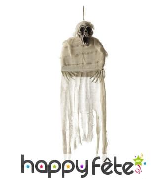 Squelette en camisole à suspendre