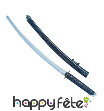 Sabre et fourreau de samouraï en plastique