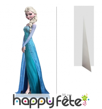 Silhouette Elsa La reine des neiges, 96 cm