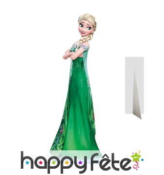 Silhouette Elsa la reine des neiges, taille réelle