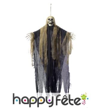 Squelette fantôme à suspendre de 90cm