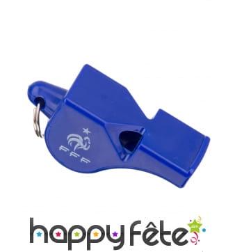 Sifflet France FFF bleu