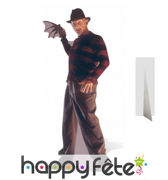 Silhouette Freddy Krueger de taille réelle
