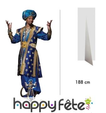 Silhouette génie Aladdin le film, taille réelle